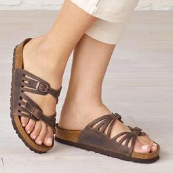 Birkenstock Granada Soft Footbed Habana Leather 39 NWT